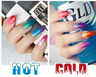Colour Changing Gel Polish fashion trends uv gel polish bluesky brands nails