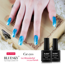 Bluesky Gel Nail polish needs shellac lamp to cure